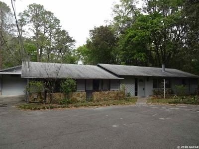 Gainesville FL Single Family Home For Sale: $244,900