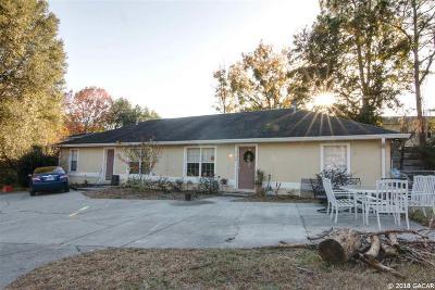 Gainesville FL Multi Family Home For Sale: $178,000