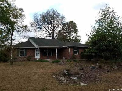 Newberry Single Family Home For Sale: 25737 SW 20th Place