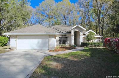 Gainesville FL Single Family Home For Sale: $324,000