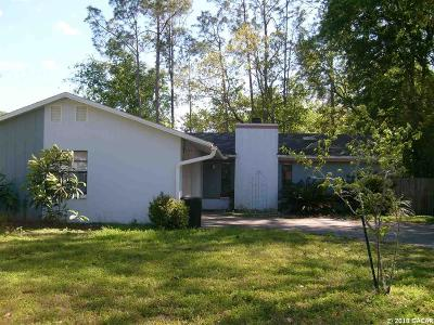 Gainesville FL Single Family Home For Sale: $164,000