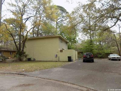 Gainesville FL Multi Family Home For Sale: $109,900
