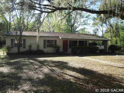 Gainesville FL Single Family Home For Sale: $209,900