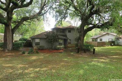 Gainesville Single Family Home For Sale: 3633 NW 77TH Terrace