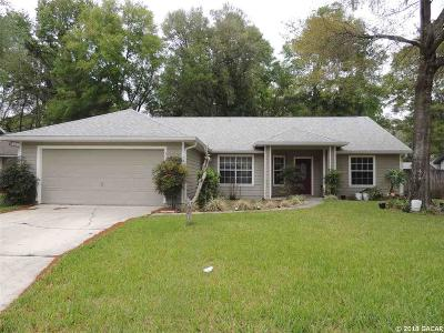 Gainesville Single Family Home For Sale: 4046 NW 59th Avenue