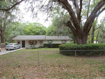 Williston FL Single Family Home For Sale: $139,000