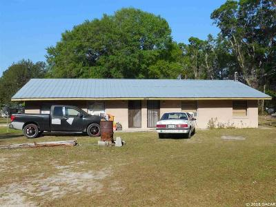 Williston FL Multi Family Home For Sale: $190,000
