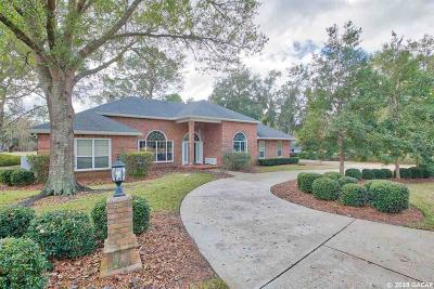Gainesville Single Family Home For Sale: 5711 SW 36th Way