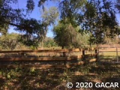 Micanopy Residential Lots & Land For Sale: TBD SW Williston Road