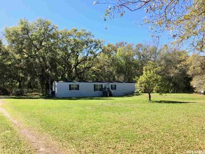 Williston FL Single Family Home For Sale: $75,000