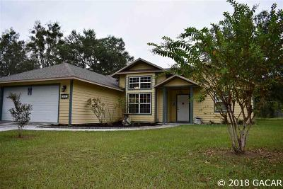 Newberry Single Family Home For Sale: 26827 NW 3 Place