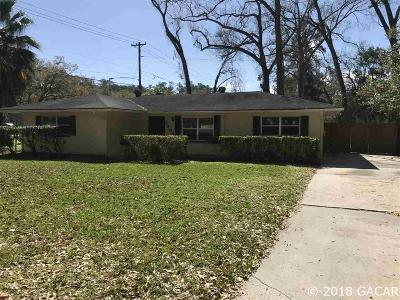 Gainesville Single Family Home For Sale: 3405 NW 10TH Avenue