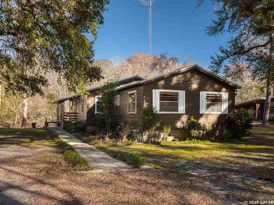 High Springs Single Family Home For Sale: 18639 NW 282nd Drive
