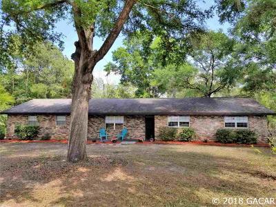 High Springs Single Family Home For Sale: 5390 NE 53rd Terrace