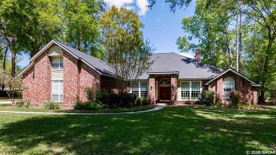 Gainesville Single Family Home For Sale: 3627 NW 33rd Terrace
