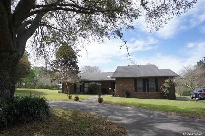 Alachua Single Family Home For Sale: 12204 NW 122ND Terrace