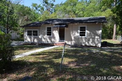 Gainesville Single Family Home For Sale: 112 NE 20 Street