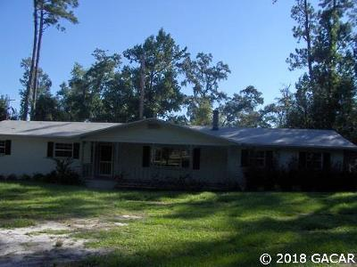 Alachua Single Family Home For Sale: 23305 NW County Road 235