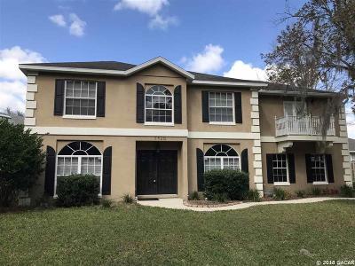 Alachua Single Family Home For Sale: 7420 NW 119TH Lane