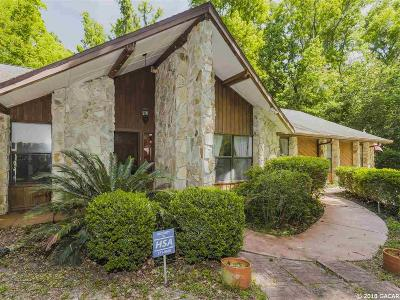 Gainesville Single Family Home For Sale: 9908 NW 59th Place