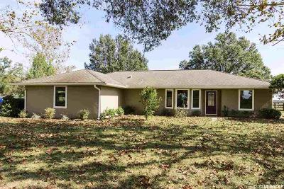 Dunnellon Single Family Home For Sale: 20700 SW 10TH Street