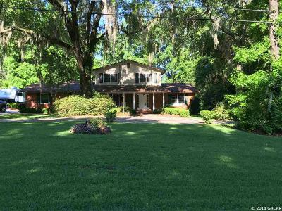 Gainesville Single Family Home For Sale: 416 SW 80th Boulevard