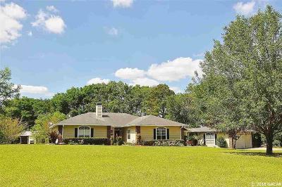 Alachua Single Family Home For Sale: 12416 NW 129th Terrace