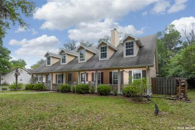 Gainesville Single Family Home For Sale: 2458 NW 31 Avenue