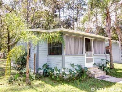 Gainesville FL Single Family Home For Sale: $67,900