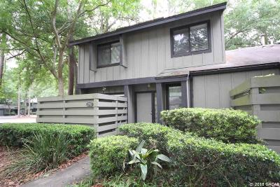 Gainesville Condo/Townhouse For Sale: 2413 NW 47TH Lane
