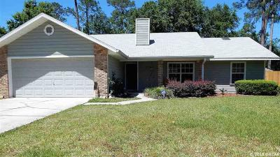 Gainesville Single Family Home For Sale: 2626 NW 52ND Place