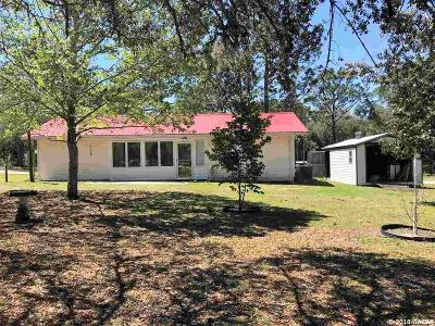 Williston FL Single Family Home For Sale: $119,900