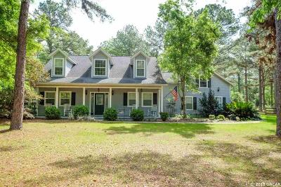 Alachua Single Family Home For Sale: 17874 NW 282nd Lane