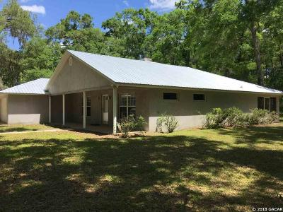 Williston FL Single Family Home For Sale: $295,000