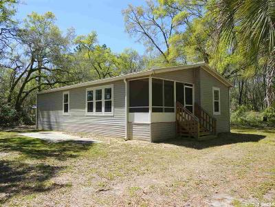 Chiefland Single Family Home For Sale: 12490 NW 90th Avenue