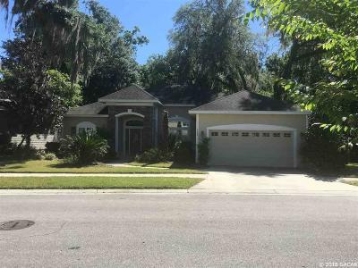 Gainesville Single Family Home For Sale: 3609 SW 72nd Way