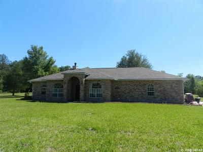 Alachua Single Family Home For Sale: 18409 NW 60 Place