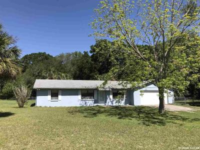 High Springs Single Family Home For Sale: 14506 NW 207TH Terrace