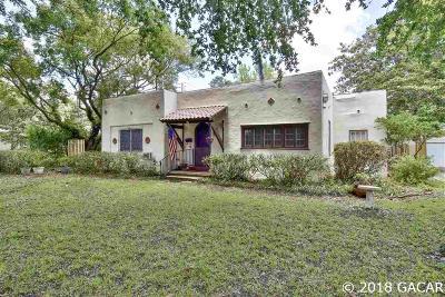 Gainesville Single Family Home For Sale: 206 NE 9th Avenue