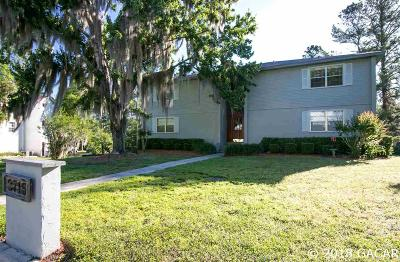 Gainesville Condo/Townhouse For Sale: 2715 NW 104TH Court #4