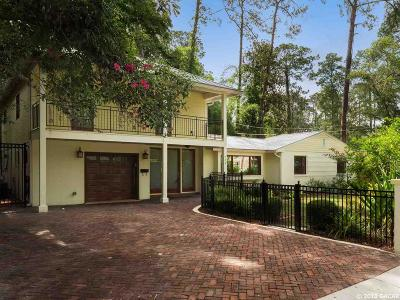 Gainesville Single Family Home For Sale: 715 NE 7th Street