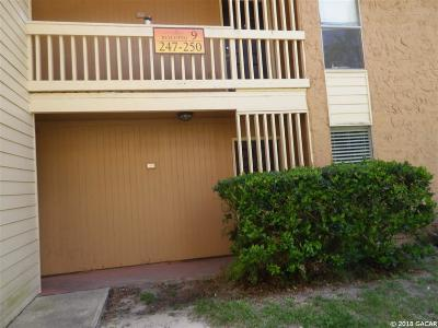 Gainesville Condo/Townhouse For Sale: 1810 NW 23 Boulevard #250