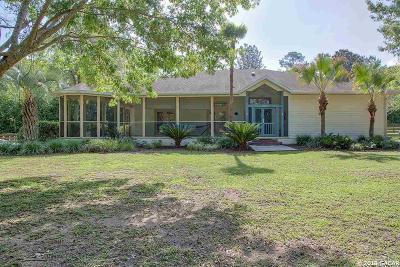Alachua Single Family Home For Sale: 12019 NW 136TH Street