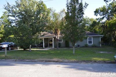 Gainesville FL Single Family Home For Sale: $140,000