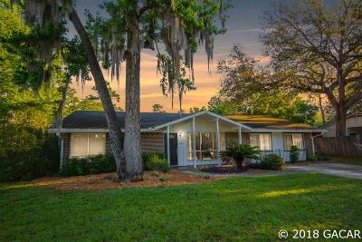 Gainesville FL Single Family Home For Sale: $215,000