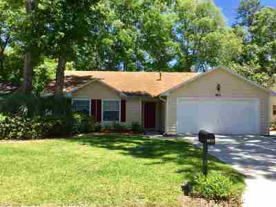 Gainesville Single Family Home For Sale: 3615 NW 51 Terrace