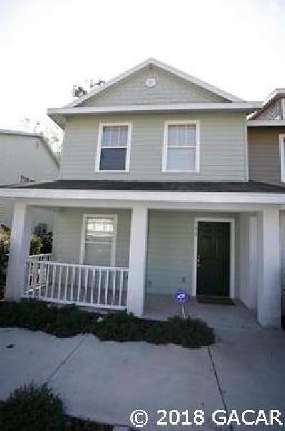 Gainesville Condo/Townhouse For Sale: 4237 SW 22ND Lane #133