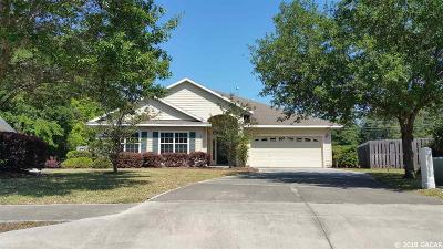 Gainesville Single Family Home For Sale: 2296 NW 52 Place
