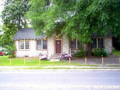 Gainesville Single Family Home For Sale: 218 SW 10TH Street