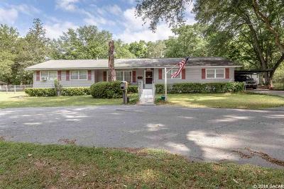 Newberry Single Family Home For Sale: 12234 W UNIVERSITY Avenue